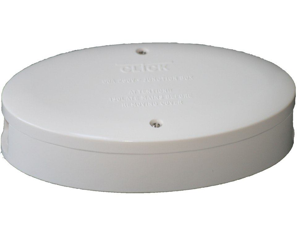 60 amp 3 terminal junction box white jb for cooker