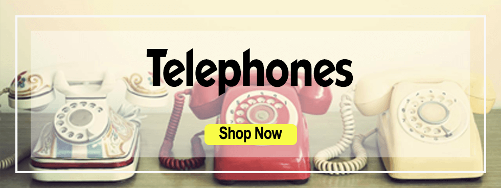 Telephone banner: links to telephones category
