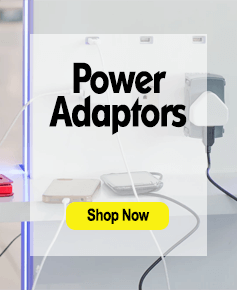 power adapters promo: links to power adaptors category
