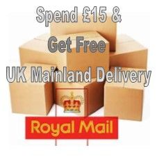 Free UK Delivery on Orders Over £15